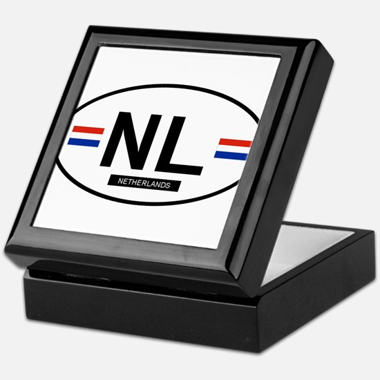 Netherlands 2F Keepsake Box