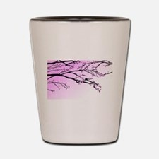 Cherry Blossom Shot Glass