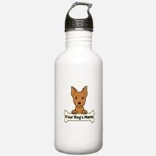 Personalized Min Pin Water Bottle