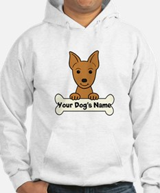 Personalized Min Pin Hoodie