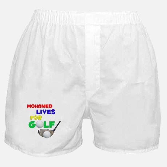 Mohamed Lives for Golf - Boxer Shorts