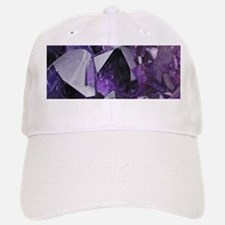 bohemian chic purple amethyst Baseball Baseball Cap