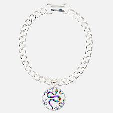 Snake Psychedelic Rainbow Colors Bracelet