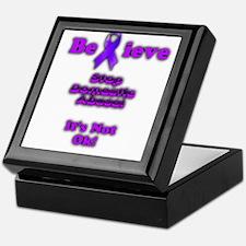 Domestic Abuse Awareness Keepsake Box