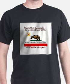 Who Bears Arms in California? T-Shirt