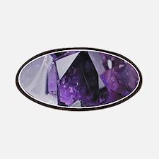 bohemian chic purple amethyst Patch