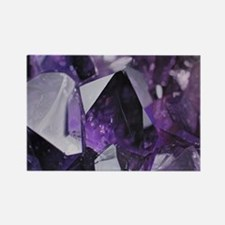 bohemian chic purple amethyst Magnets