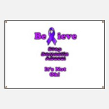 Domestic Abuse Awareness Banner