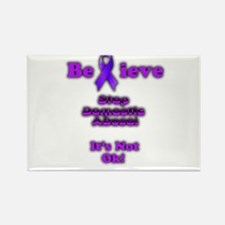 Domestic Abuse Awareness Magnets
