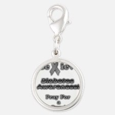 Diabetes Awareness Charms