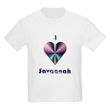 I Love Savannah #2 T-Shirt