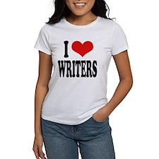 I Love Writers Tee