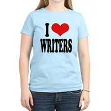 I Love Writers T-Shirt