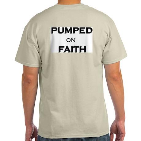 Pumped on Faith T-Shirt