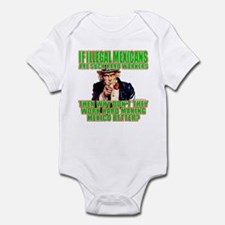 Hard Working Illegals? Infant Bodysuit