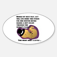 Little Escape Artist Oval Decal