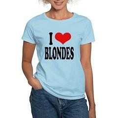 I Love Blondes T-Shirt