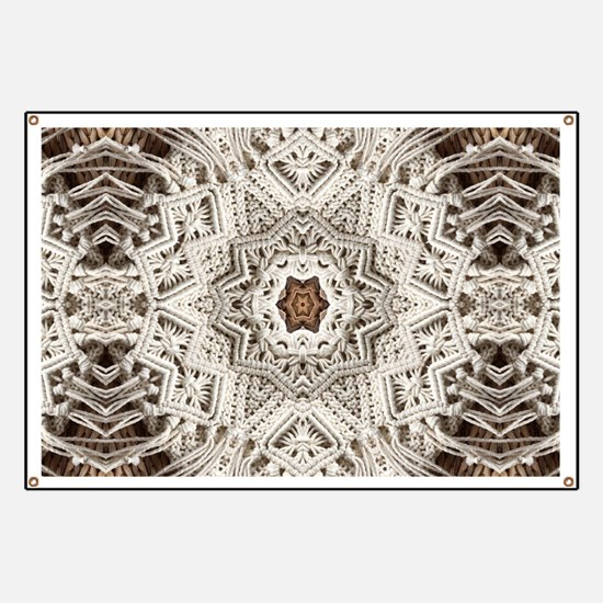 Boho tribal bohemian pattern Banner