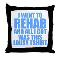 Sections and Products Throw Pillow
