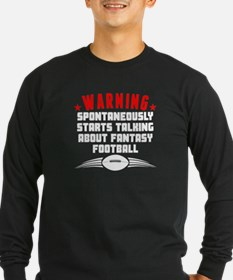 Talking About Fantasy Football Long Sleeve T-Shirt