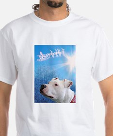 Cute Holiday bull dogs Shirt