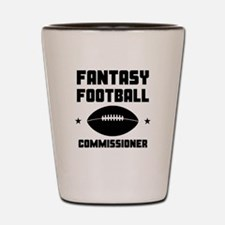 Fantasy Football Commissioner Shot Glass