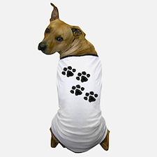 Pet Paw Prints Dog T-Shirt