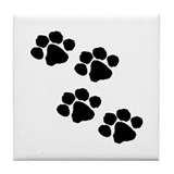 Paws Tile Coasters