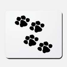 Pet Paw Prints Mousepad