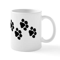 Pet Paw Prints Mug