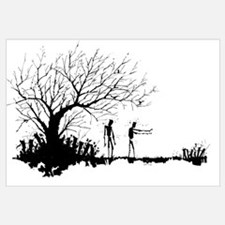 Cute Zombie Wall Art