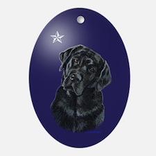 Lola Xmas Star Oval Ornament