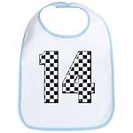 racing car #14 Bib