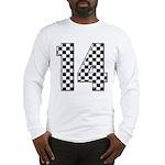 racing car #14 Long Sleeve T-Shirt
