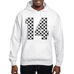 racing car #14 Hooded Sweatshirt