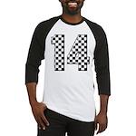 racing car #14 Baseball Jersey