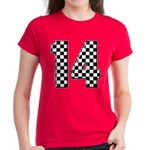 racing car #14 Women's Dark T-Shirt