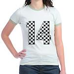 racing car #14 Jr. Ringer T-Shirt