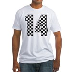 racing car #14 Fitted T-Shirt