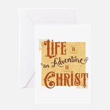 Adventure in Christ Greeting Cards
