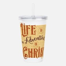 Adventure in Christ Acrylic Double-wall Tumbler
