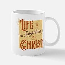 Adventure in Christ Mugs