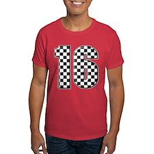auto racing #16 T-Shirt