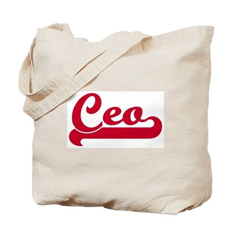 Ceo (sporty red) Tote Bag