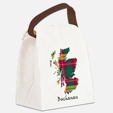 Map - Buchanan Canvas Lunch Bag