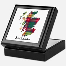 Map - Buchanan Keepsake Box