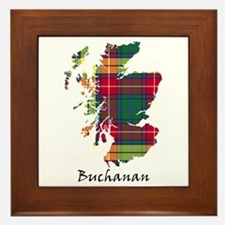 Map - Buchanan Framed Tile