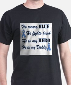 He is my Daddy Light Blue Her T-Shirt