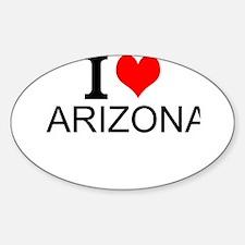 I Love Arizona Decal