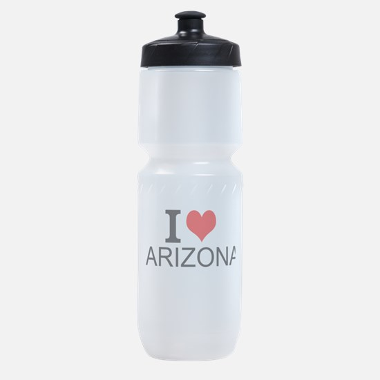 I Love Arizona Sports Bottle